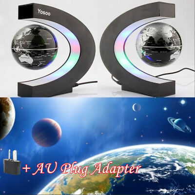 Electronic Magnetic Levitation Floating Globe Antigravity magic/novel light BU