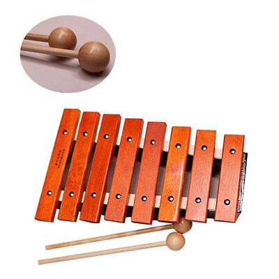 Kids Baby Wooden Piano Educational Xylophone Musical Instrument Gift Toy BU