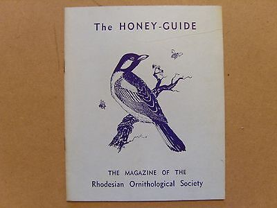 The Honey Guide - May 1967 - Magazine The Rhodesian Ornithological Society