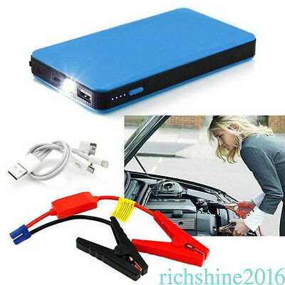 Car Jump Starter Multi-function Battery Charger Power Bank Booster 12V 20000mAh