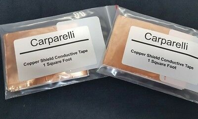 1 Square Foot Copper shielding tape with conductive adhesive