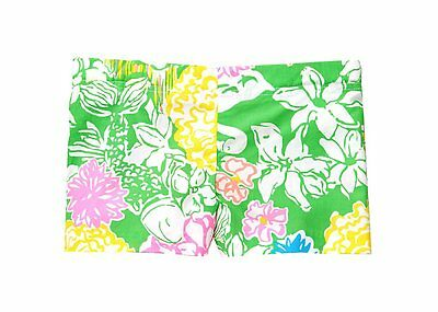 LILLY PULITZER Girls LITTLE LIZA Shorts Multi Hibiscus FLORAL ( 14 ) Free Ship
