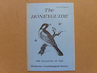 The Honey Guide - July 1968 - Magazine The Rhodesian Ornithological Society