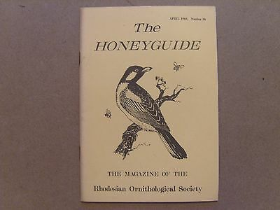 The Honey Guide - April 1969 - Magazine The Rhodesian Ornithological Society