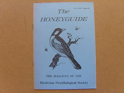 The Honey Guide - July 1969 - Magazine The Rhodesian Ornithological Society