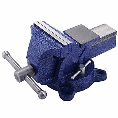 "8"" Mechanic Bench Vise Table Top Clamp Press Locking Swivel Base Heavy Duty"