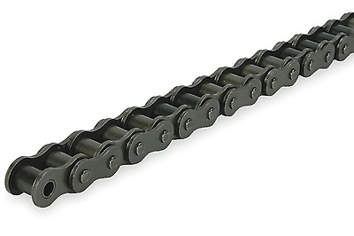 "New! Dayton 10' Roller Chain, Riveted, 3/8"" Pitch, 35 Ansi, 2Ydw4"