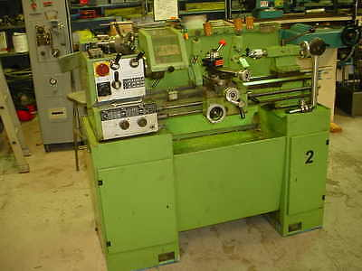"11"" X 26"" Emco Maximat Super 11 Geared Head Tool Room Lathe With Tooling"