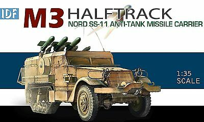 Dragon 1:35 3579: IDF M3 Halftrack Nord SS-11 Anti-Tank Missile Carrier