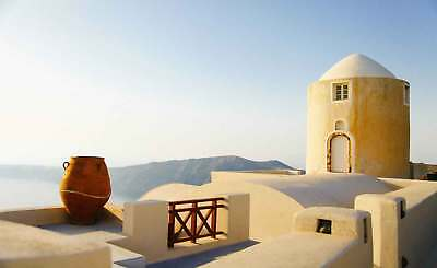 WALL MURAL PHOTO WALLPAPER XXL Santorini Greece Architecture Travel (JD-1361WS)