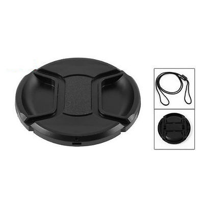 2x 77mm Camera Snap-on Front Lens Cap Cover For Canon Nikon Sony Pentax Olympus