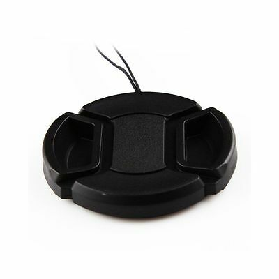 2x 58mm Camera Snap-on Front Lens Cap Cover For Canon Nikon Sony Pentax Olympus