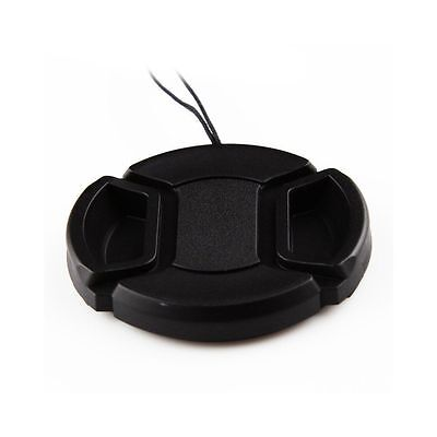 55mm Camera Snap-on Front Lens Cap Cover For Canon Nikon Sony Pentax Olympus