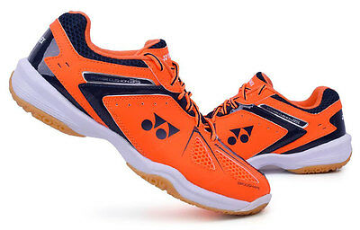 Yonex Unisex Badminton Shoes Power Cushion 35 Orange Racket Sports SHB-35EX NWT
