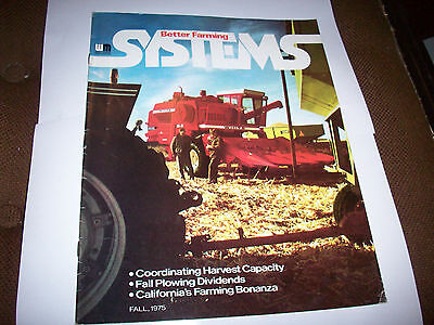 1975 White Better Farming Systems Magazine 4-150 2-105 4-180 2-85 Tractor