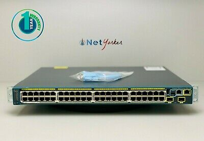Cisco HWIC-4ESW 4 Port 10/100 Ethernet Switch Interface Card -Same Day Shipping-
