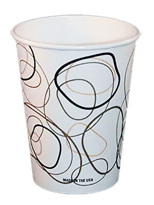 8 oz Coffee/Hot Cups 1,000/box (Mocha Design)