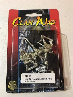 Clan War AEG Kakita Students L5R Legend Of The Five Rings