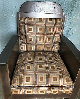 Rocking Chair - Mission Style Arts & Crafts - Antique