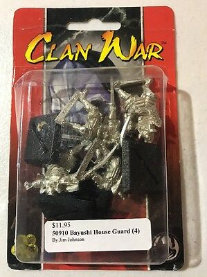 Clan War AEG Bayushi House Guard L5R Legend Of The Five Rings