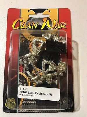 Clan War AEG Kaiu Engineers L5R Legend Of The Five Rings
