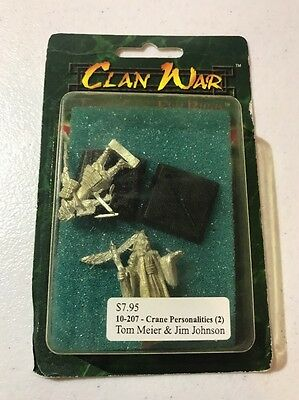 Clan War AEG Crane Personalities L5R Legend Of The Five Rings