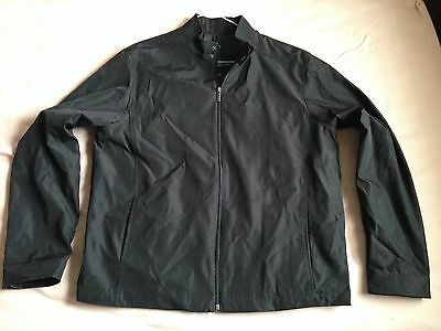 Men's Attention Jacket Coat Black size L Large