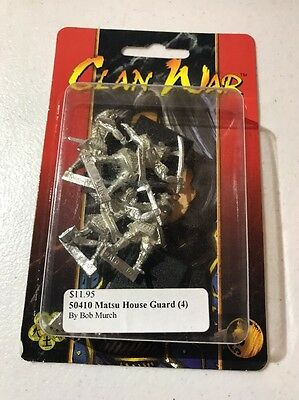 Clan War AEG Matsu House Guard L5R Legend Of The Five Rings