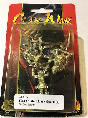 Clan War AEG Shiba House Guard L5R Legend Of The Five Rings