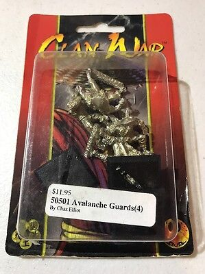Clan War AEG Avalanche Guards L5R Legend Of The Five Rings