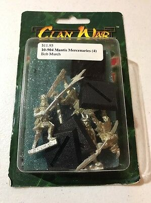 Clan War AEG Mantis Mercenaries L5R Legend Of The Five Rings
