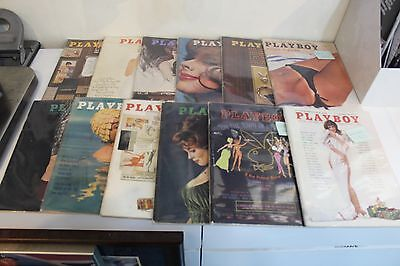 Playboy Magazine Complete Set of 1962 Back Issues - 12 total