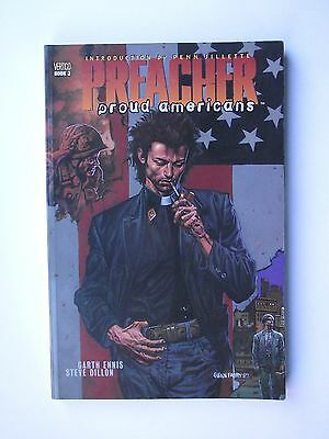 Preacher:  Proud Americans. vol 3: Rare 1997 Edition Paperback Graphic Novel