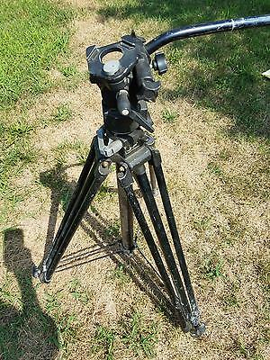 Video Photography Manfrotto Bogen Italy Professional Tripod 3246 with 3063 Head