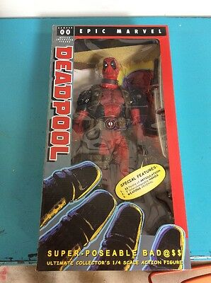 *NEW* Marvel: Deadpool 1/4 Scale Action Figure by Neca