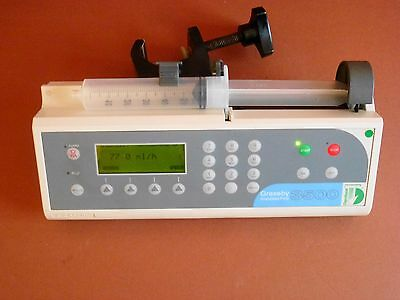 Graseby 3500 Anesthesia Syringe Driver Infusion Pump Fluid Administration Pump
