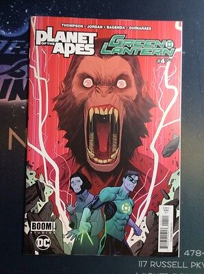 Planet of the Apes Green Lantern (2017) #4A VF/NM (CBA081)