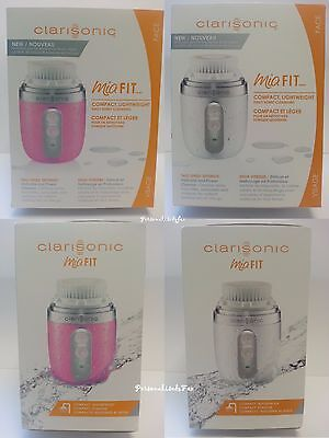 Clarisonic Mia Fit SONIC SKIN CLEANSING SYSTEM Two Speeds - Pink & White