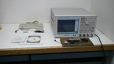 Agilent E5071C  300 kHz to 8.5 GHz Network Analyzerop:8/10/1E5/485