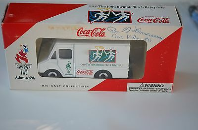 1996 Atlanta Olympic Die Cast Panel Truck