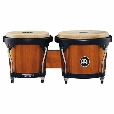 Meinl Percussion HB100MA Standard Size Maple Bongos with Natural Skin Heads