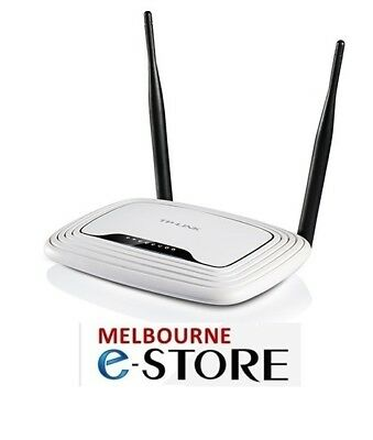 TP-Link TL-WR841N N300 Wireless N 300Mbps 4-Port Router NBN Ready