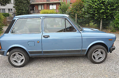 1978 Autobianchi A112 Abarth 70HP Original Mecanic and Interior Body Rust Free !
