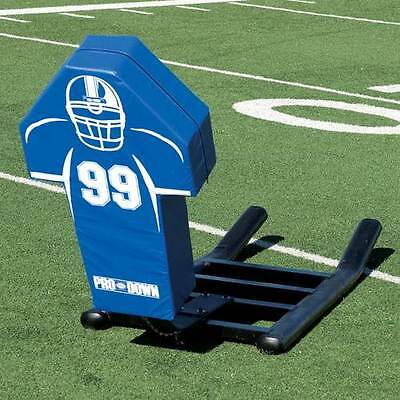 Football 1 Man Blocking Sled Pro Down Lineman Training
