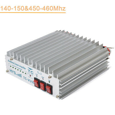 HYS 50W 140-150Mhz & 460-470Mh Dual Band two way radio power amplifier