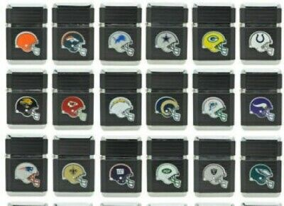 Nfl Lighter Butane Torch Refillable Windproof Comes In A Tin Gift Assorted Teams
