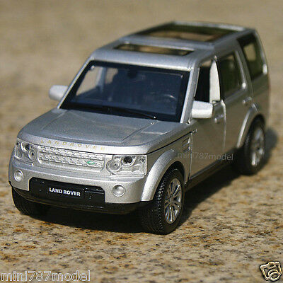 Land Rover Discovery 4 Model Cars 1:32 Toy Collection&Gifts Alloy Diecast Silver