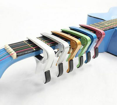 Advanced Guitar Capo Quick Change Tune Clamp Acoustic Electric Classic Guitar MW