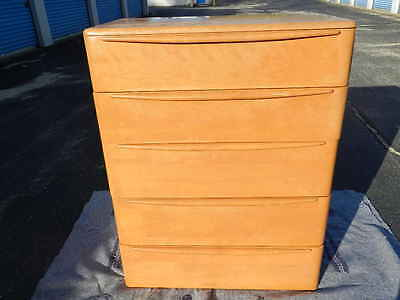 Nice Vintage Heywood Wakefield 5 Drawer Encore Chest Dresser Champagne In CT