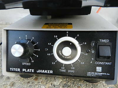 Barnstead/Lab-Line, Titer Plate Shaker Model 4625 Variable Speed w/Timer